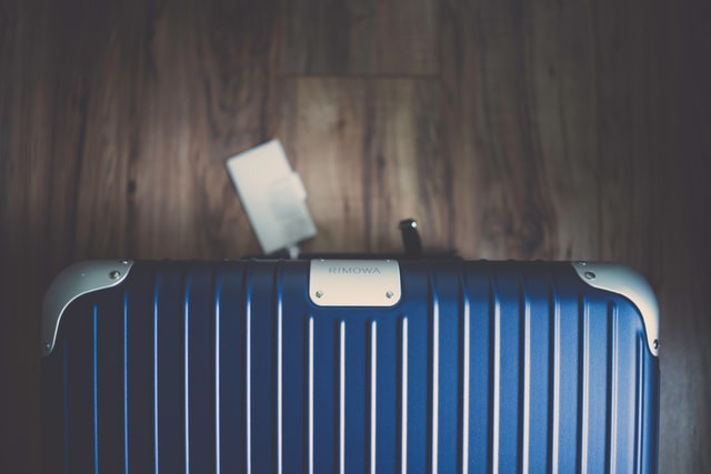 ディテールにもこだわりを見せるリモワのスーツケース