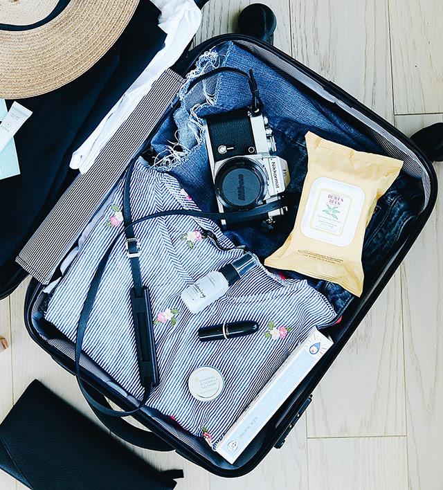 スーツケースはジャストサイズで収納出来るものを選ぶ