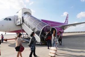 LCCを利用する場合は、LCC対応サイズの機内持ち込みできるスーツケースを選ぶ