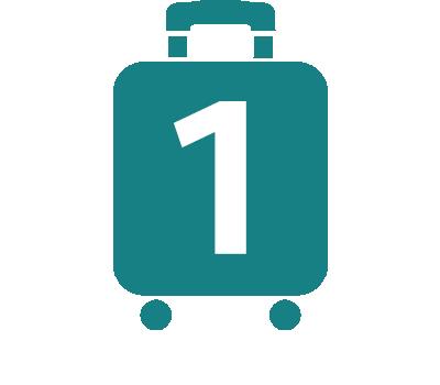 プロテカのスーツケースアイコン1