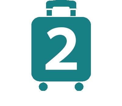 プロテカのスーツケースアイコン2