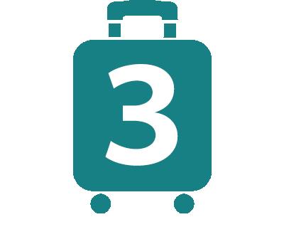 プロテカのスーツケースアイコン