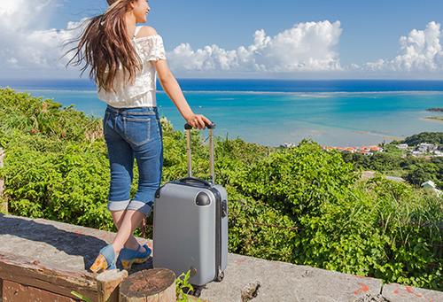 旅の気分も上がるかわいいスーツケース